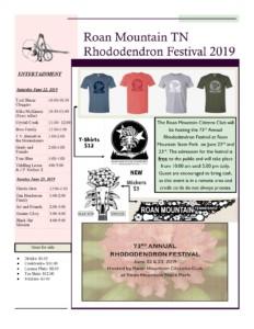 festival flyer 2019