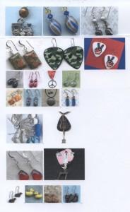 Jeri Jones Earrings for shows