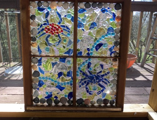 Suncatchers Broken Glass Art – 2016 Rhododendron Festival Vendor
